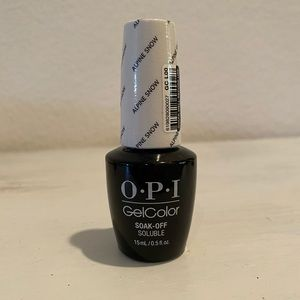 OPI Gel Nail color - Alpine Snow